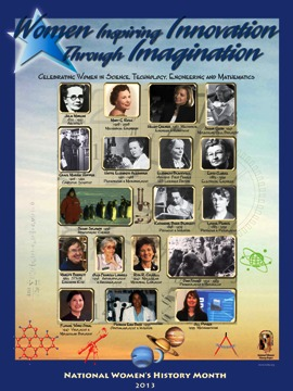 Women Inspiring Innovation through Imagination Poster