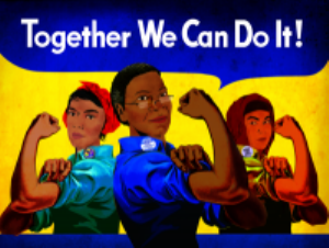 Together We Can Do It Magnet