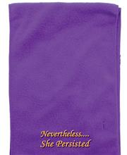 Purple Nevertheless Scarf THUMBNAIL