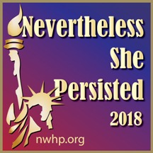 Nevertheless She Persisted Electronic Logo
