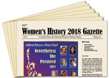 2018 Women's History Gazette (25 copies)