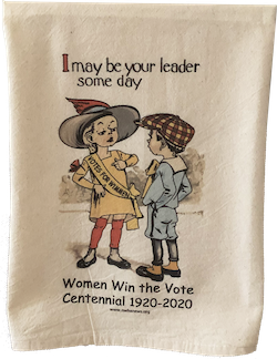 Women Win the Vote Towel THUMBNAIL