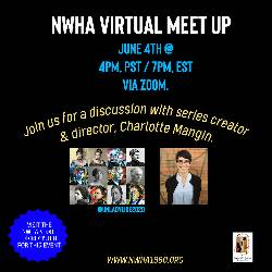 "Virtual Meet Up, ""Discussion with Unladylike2020 Creator, Charlotte Mangin"" LARGE"