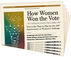 How Women Won the Vote Gazette (25 copies)