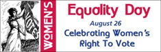 Women's Equality Day Banner