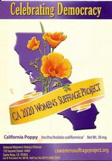 $25 Donation  Honoring California Suffragists MAIN