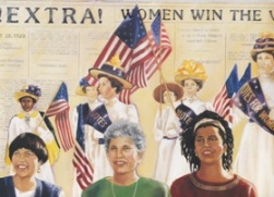 "Women Win the Vote Gazette Vol. 1 AD- 1/16 Page (5"" wide  x 1.5"" high)_MAIN"