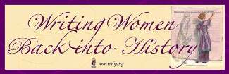 Writing Women Back into History Banner