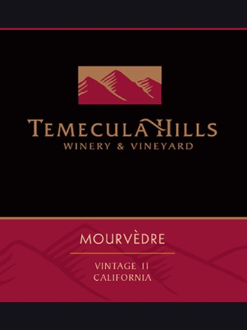 2013 Temecula Hills Mourvedre