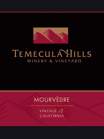 2012 Temecula Hills Mourvedre