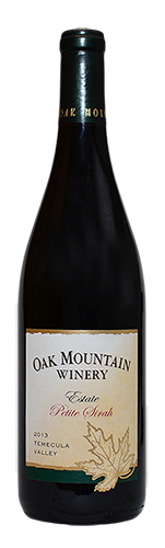 2013 Oak Mountain Petite Sirah MAIN