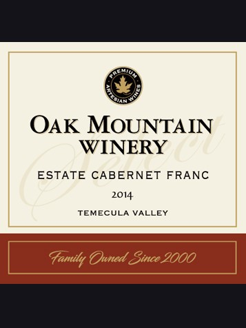 2014 Oak Mountain Cabernet Franc