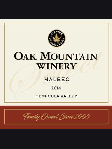 2014 Oak Mountain Malbec