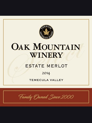 2014 Oak Mountain Merlot