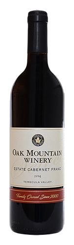 2015 Oak Mountain Cabernet Franc