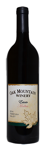 2014 Oak Mountain Malbec MAIN