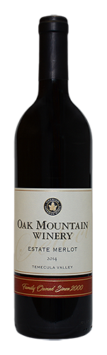 2014 Oak Mountain Merlot MAIN