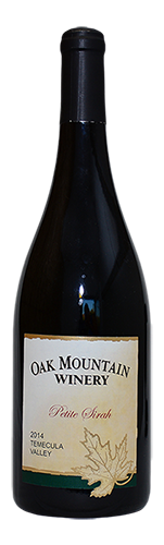 2014 Oak Mountain Petite Sirah MAIN