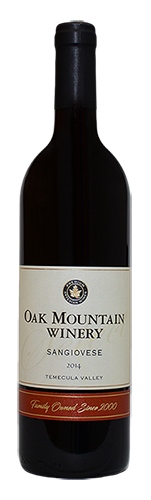 2014 Oak Mountain Sangiovese
