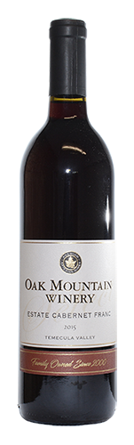 2015 Oak Mountain Cabernet Franc MAIN
