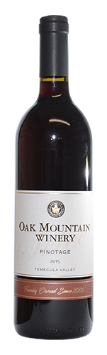 2015 Oak Mountain Pinotage MAIN