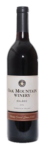 2015 Oak Mountain Malbec THUMBNAIL