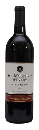 2016 Oak Mountain Merlot MAIN