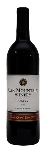 2016 Oak Mountain Malbec MAIN