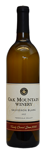 2017 Oak Mountain Sauvignon Blanc