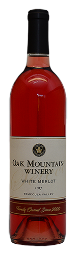2017 Oak Mountain White Merlot