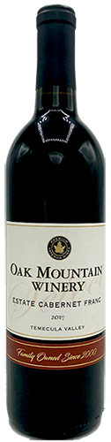 2017 Oak Mountain Cabernet Franc MAIN