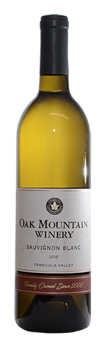 2018 Oak Mountain Sauvignon Blanc
