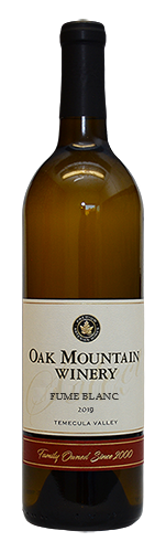2019 Oak Mountain Fume Blanc MAIN