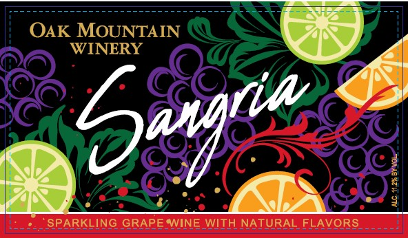 Oak Mountain Winery Sangria MAIN