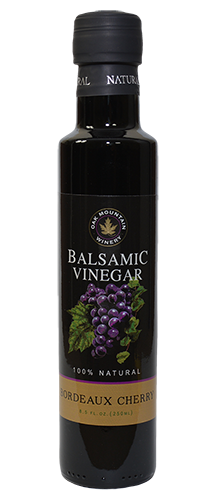Oak Mountain Bordeaux Cherry Balsamic Vinegar MAIN