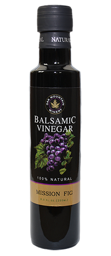 Oak Mountain Mission Fig Balsamic Vinegar MAIN