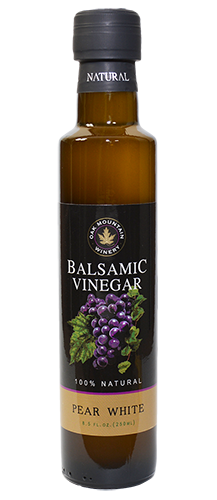 Oak Mountain Pear White Balsamic Vinegar MAIN