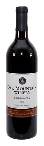 2015 Oak Mountain Sangiovese MAIN