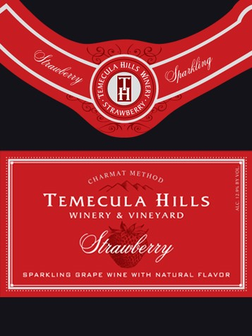 Temecula Hills Winery Strawberry Sparkling