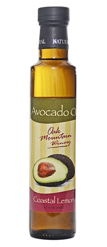 Oak Mountain Coastal Lemon Avocado Oil