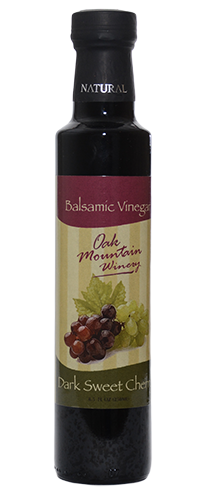 Oak Mountain Dark Cherry Balsamic Vinegar MAIN