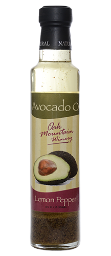 Oak Mountain Lemon Pepper Avocado Oil THUMBNAIL