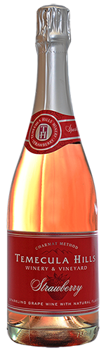 Temecula Hills Winery Strawberry Sparkling MAIN
