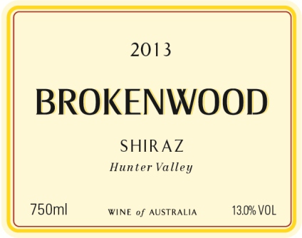 Brokenwood Hunter Valley Shiraz 2011 THUMBNAIL