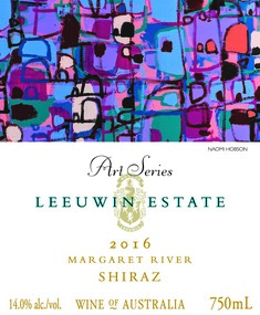 Leeuwin Estate Art Series Shiraz 2016 MAIN