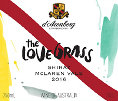 d'Arenberg The Love Grass Shiraz 2017 MAIN