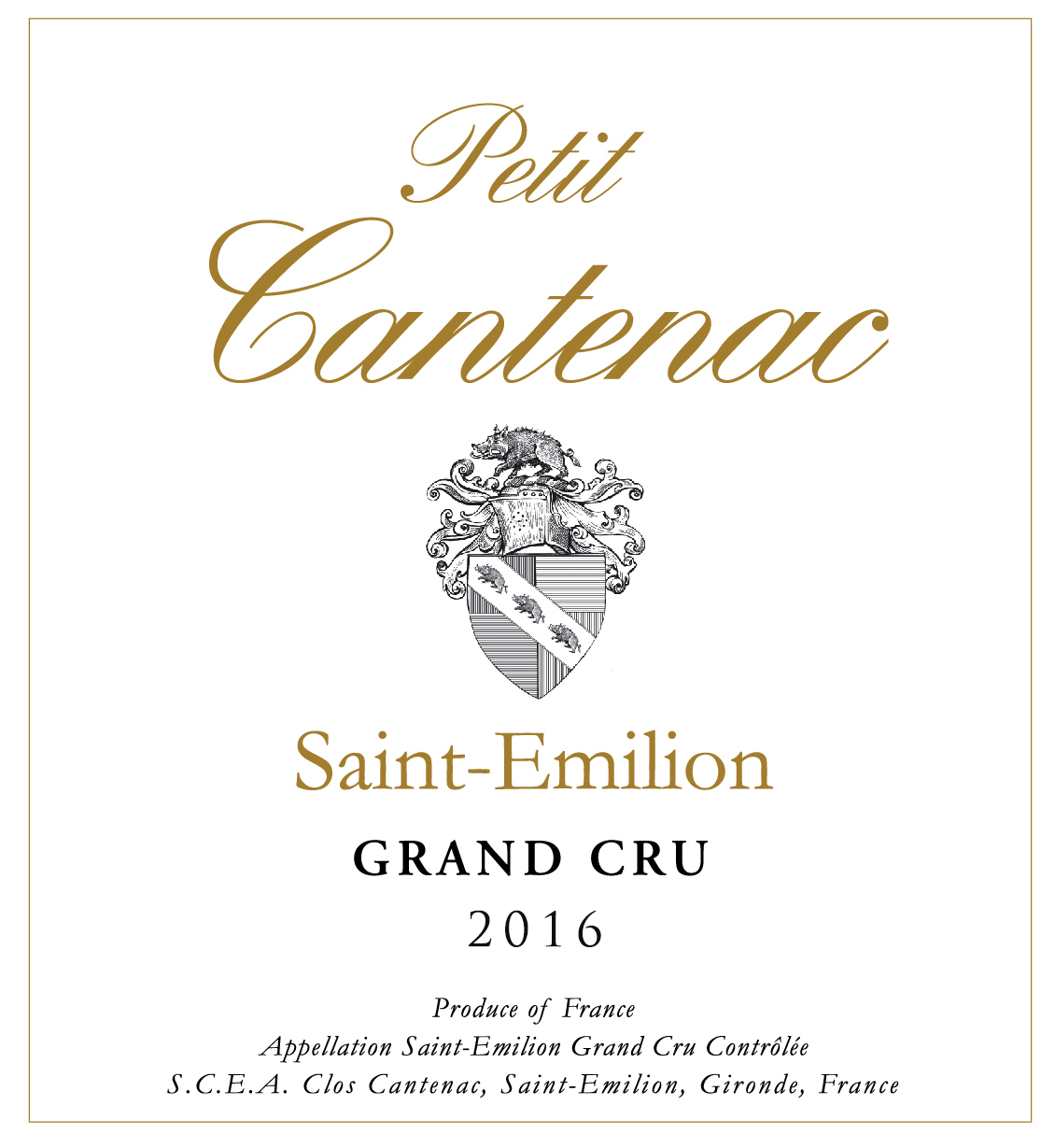 Petit Cantenac Grand Cru 2015 MAIN