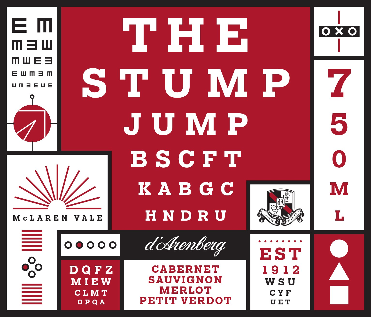 d'Arenberg The Stump Jump Cabernet Merlot 2013 MAIN