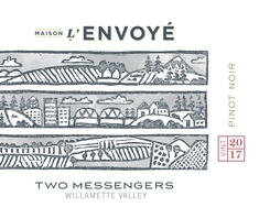 Maison L'Envoye Two Messengers Pinot Noir 2018 MAIN