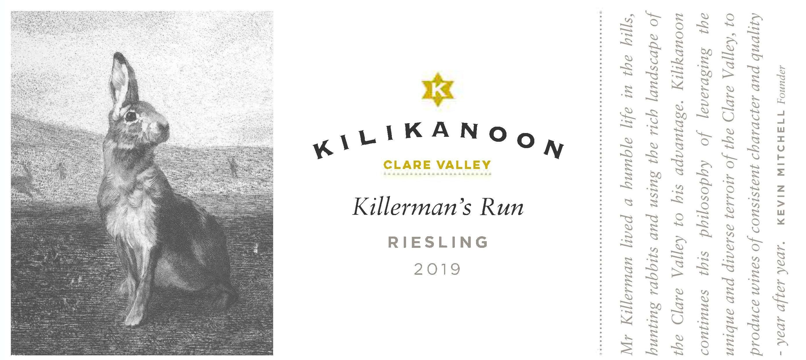 Kilikanoon Killerman's Run Riesling 2017 MAIN